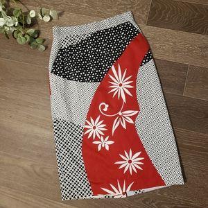 RARE MaxMara Lined Midi Pencil Skirt 6